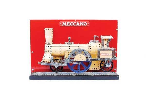 13: Meccano Factory Built 2-4-2 Locomotive