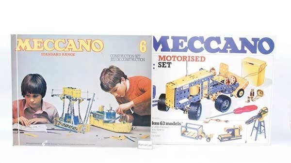 21: Meccano - A Group of Late Issue Sets