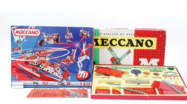 23: French Meccano Late Issue Sets
