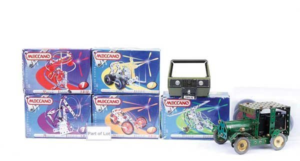 24: Meccano - A Mixed Group of Components