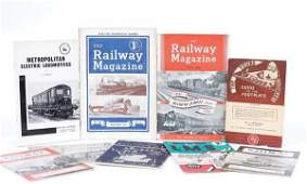 58 A Group of Railway Related Books