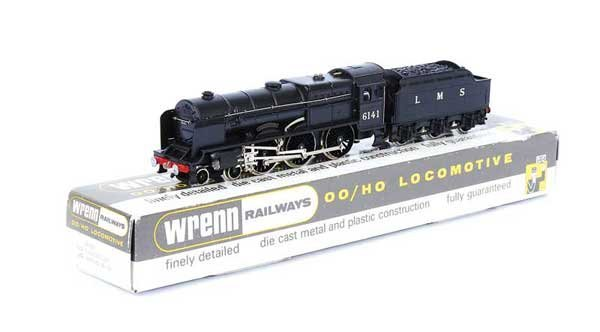 "173: Wrenn W2293 (ins) 4-6-0 No.6141 ""Caledonian"""