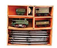 427: Hornby O Gauge Pre-war No.1 Goods Set