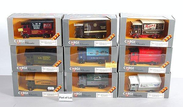 1003: Corgi Classics Commercials plus Others