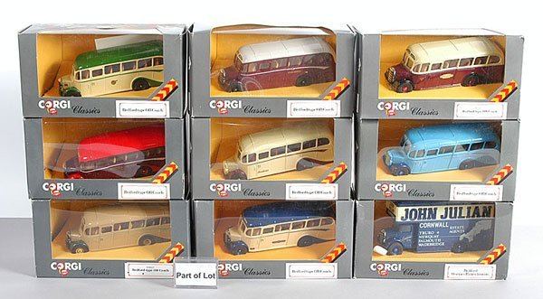 1004: Corgi Classics Coaches & Commercials