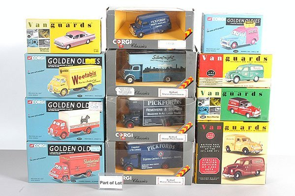 1005: Lledo Vanguards Cars, Commercials plus Others