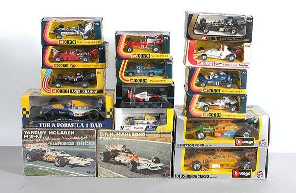 1006: Corgi 1970s Issue Formula 1 Racing Cars