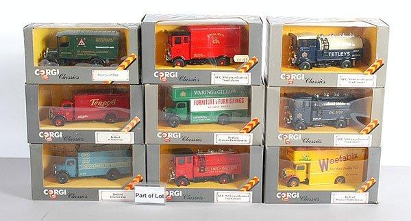 1008: Corgi Classics Commercial Vehicles plus others