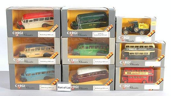 1010: Corgi Classics OB & Double Decker Buses