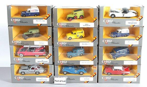 1012: Corgi Classics - A Group of Commercial Vans