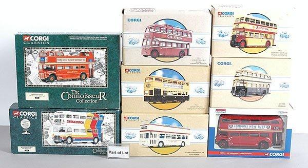 1013: Corgi Classics - A Quantity of Buses