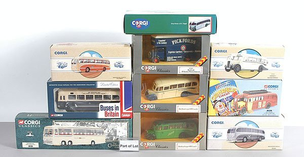 1014: Corgi Classics - A Collection of Buses