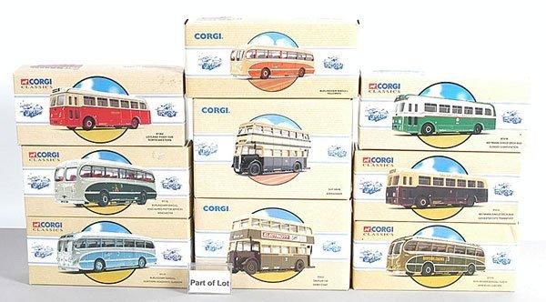 1018: Corgi Classics - A Collection of Buses