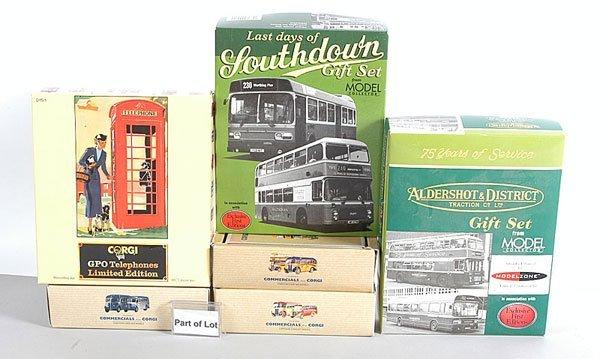 1019: Corgi Classics - A Collection of Twin Bus Packs