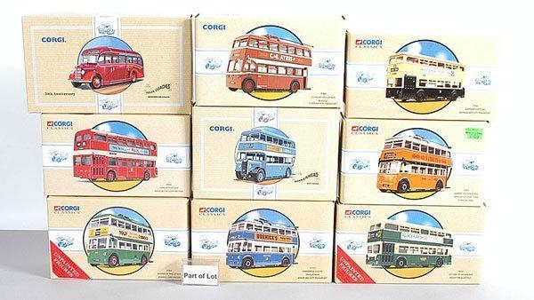1021: Corgi Classics - A Collection of Buses