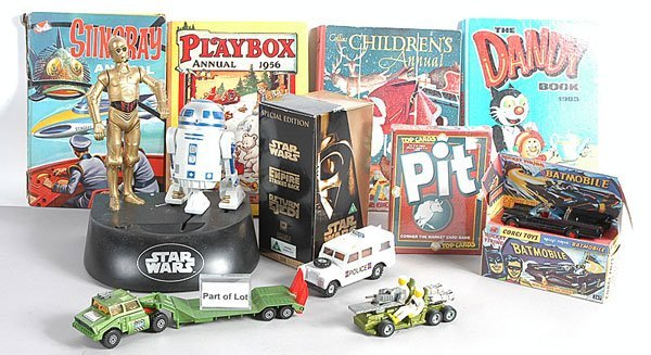 1387: Children's Annuals, Star Wars Videos & Others