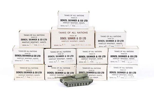 1573: Denzil Skinner - Tanks of all Nations Series