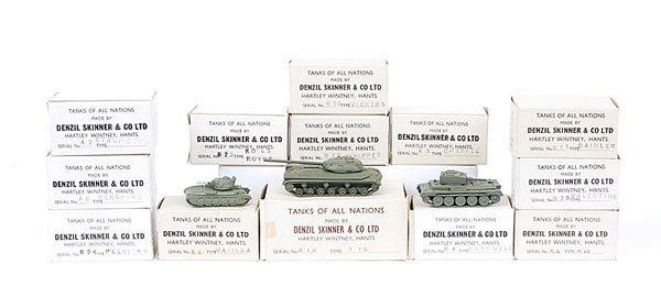 1574: Denzil Skinner - Tanks of all Nations Series