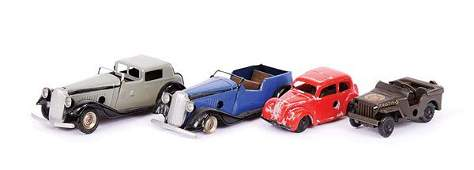 2735: Triang Minic Vauxhall Cars and Other Models