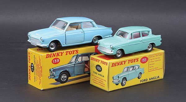 3002: Dinky - A Pair of 1960s Ford Cars