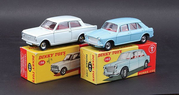 3003: Dinky Morris and Vauxhall Cars
