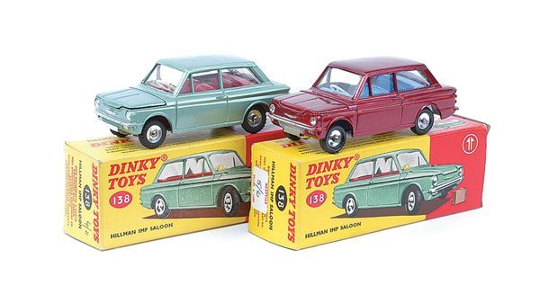 3005: Dinky - A Pair of No.138 Hillman Imps