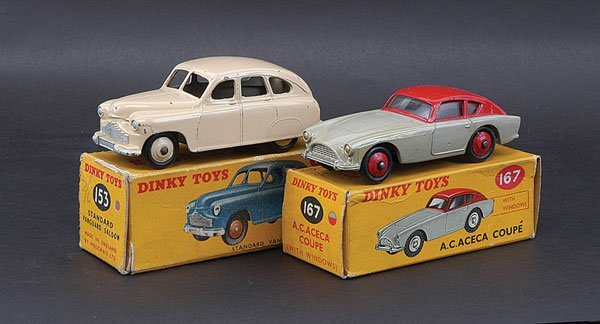 3014: Dinky Standard and AC Cars