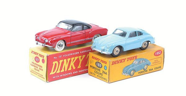 3023: Dinky - A Pair of Porsche and VW Cars