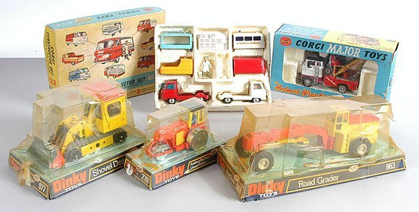 2: Dinky and Corgi Commercial Vehicles
