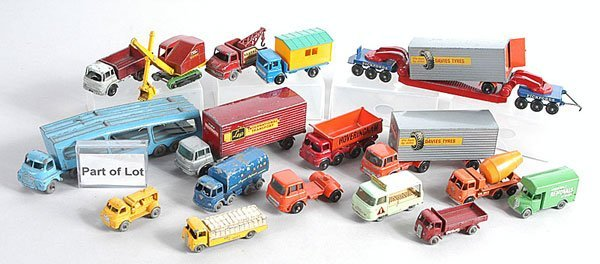 3: Matchbox Commercial & Army Vehicles