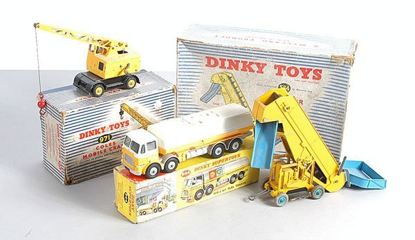 6: Dinky Toys Commercial Vehicles