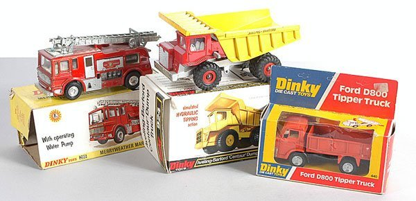 7: Dinky Toys Commercial Vehicles