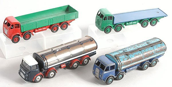 13: Dinky Supertoys - A Group of 4