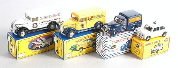 17: Dinky/Matchbox Repro Cars and Commercials