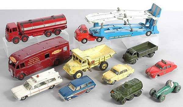 19: Dinky/Corgi Cars and Commercials