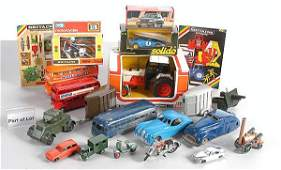 87: A Group of Diecast Cars, Commercials & Buses