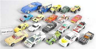 157: A Large Mixed Group of Unboxed Cars