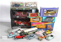 179: A Mixed Group of Diecast Cars & Commercials