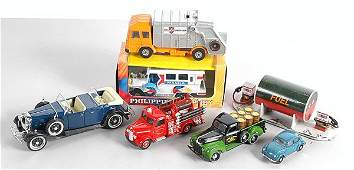 184: A Group of Diecast & Plastic Cars & Commercials