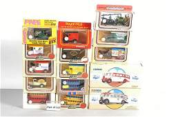 196: A Mixed Group of Diecast Cars & Commercials