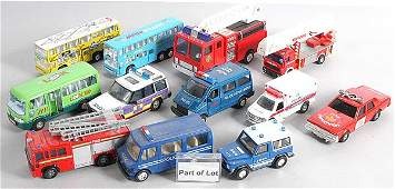 318: A Group of Diecast & Plastic Cars & Commercials