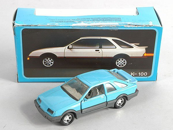 496: Matchbox K100 Ford Sierra XR4 Colour Trial