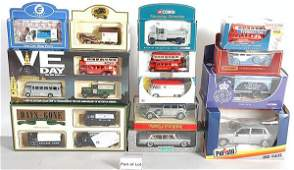 525: A Mixed Group of Diecast Cars & Commercials