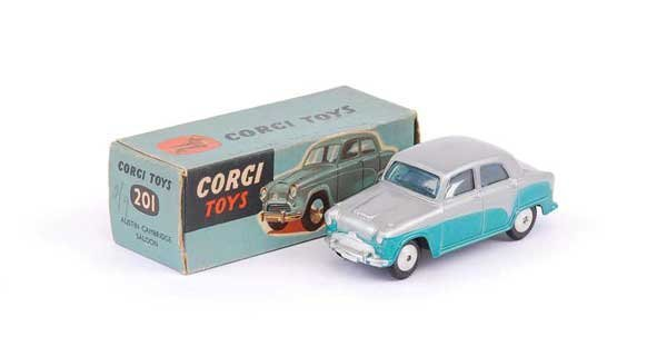 1002: Corgi - No.201 Austin Cambridge Saloon