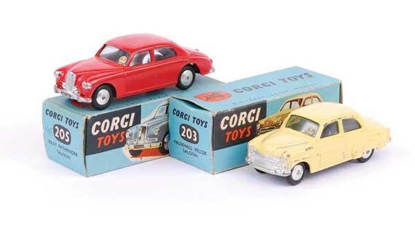 1005: Corgi - No.203 Vauxhall Velox Saloon