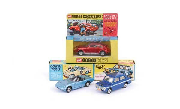 """1012: Corgi No.318 Lotus Elan S2 """"Tiger in my Tank"""""""