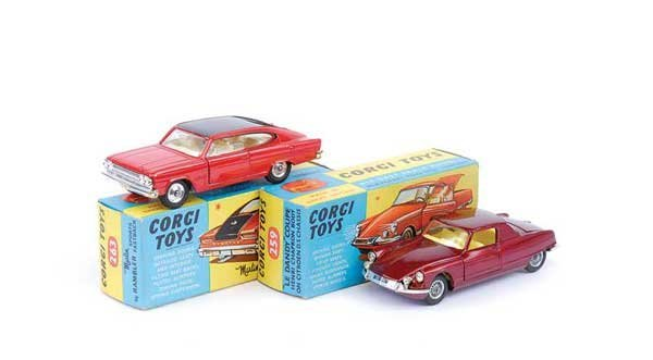 1015: Corgi - No.259 Le Dandy Coupe & Others