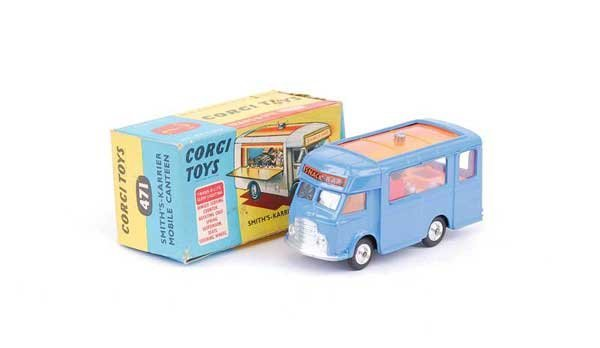 """1019: Corgi No.471 Mobile Canteen """"Joe's Diner"""""""