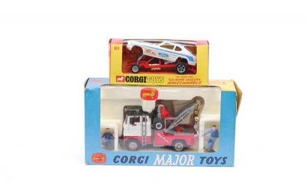 1021: Corgi No.1142 Ford Holmes Wrecker Recovery Truck