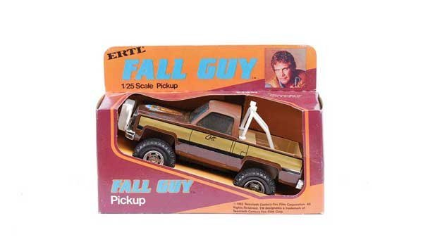 "1644: Ertl ""The Fall Guy"" Pick-up Truck"